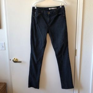DKNY Skinny Jeans Size 10 Gently Used Faded Black